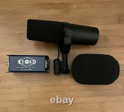 Shure SM7B Cardioid Dynamic Vocal Microphone With Cloudlifter