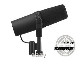 Shure SM7B Cardioid Vocal Microphone