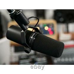 Shure SM7B Dynamic Vocal Microphone Cardioid Pattern Presence Boost IN STOCK
