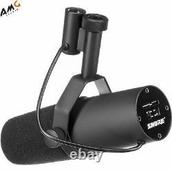 Shure SM7B Professional Cardioid Dynamic Studio Vocal Microphone SM-7B