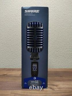 Shure Super 55 Deluxe Vocal Microphone Classic Collection
