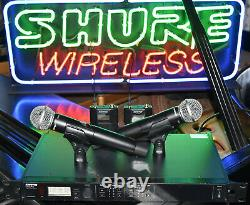 Shure ULXD4D L50 Dual Channel Digital Wireless Microphone Combo System