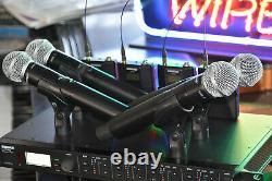 Shure ULXD4Q L50 or L51 Quad Channel Digital Wireless Microphone Combo System