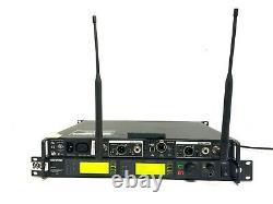 Shure UR4D Dual Wireless Receiver J5 578-638MHZ Wireless System #9967 (One)