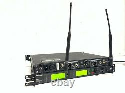 Shure UR4D Dual Wireless Receiver Q5 740-814 MHZ Wireless System #9968 (One)