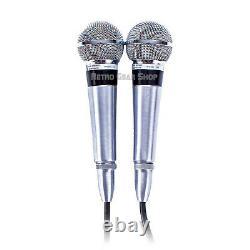 Shure Unisphere 1 Model 565 Stereo Pair Rare Vintage Microphone Dynamic Mic