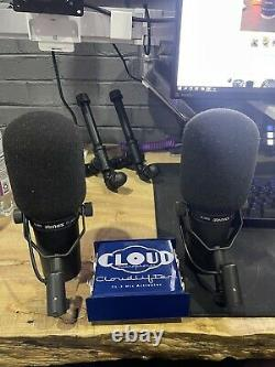 Shure sm7b (2x) And Cloudlifter Cl-2