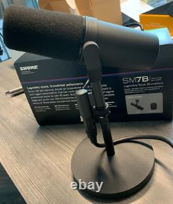 USED Shure SM7B Cardioid Dynamic Vocal Microphone