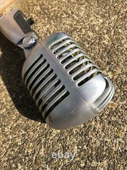 Vintage 1950's SHURE 55 SW Dynamic Microphone Elvis