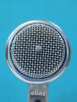 Vintage 1950S Electro Voice Dynamic Microphone In Box And Accessories Shure Old