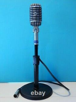 Vintage 1955 Shure 55S Dynamic microphone And Accessories Working Elvis Chicago