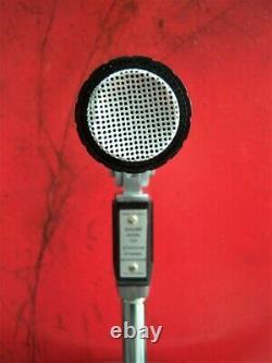 Vintage 1960's Shure 540 dynamic microphone harp High Z old Turner Astatic