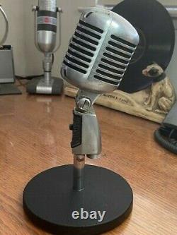 Vintage 1970's SHURE 55 (PE) Dynamic Microphone- good shape & great sound