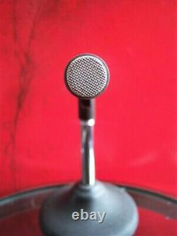 Vintage 1970's Shure SM-76 dynamic microphone old Dual Z w accessories 578 # 1