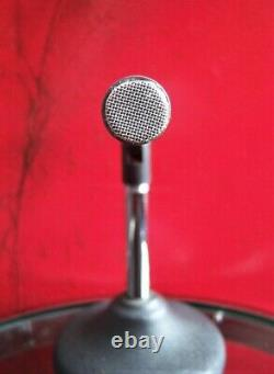 Vintage 1970's Shure SM-76 dynamic microphone old Dual Z w accessories SM-60 # 2