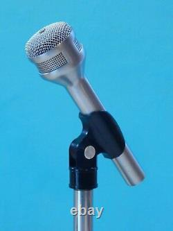 Vintage 1970S Electro Voice 627C Dynamic Dual Z Microphone And Accessories Shure