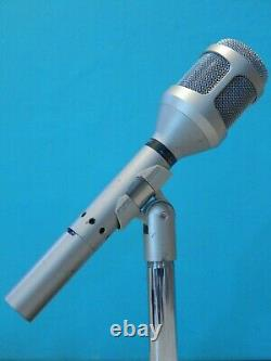 Vintage 1980S Shure SM54 Dynamic Microphone And Accessories 150 OHMS Working USA
