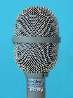 Vintage 1992 Electro Voice RE16 Dynamic Microphone In Box & Accessories Shure