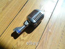 Vintage Elvis Style Shure Brothers 55S Unidyne Dynamic Microphone