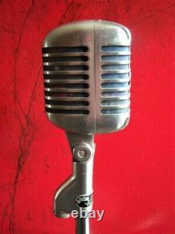 Vintage RARE 1961 DuKane 7A65 / Shure 55 S dynamic microphone w accessories # 3