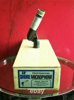 Vintage RARE 1970's Shure SM77 Starmaker dynamic cardioid microphone SM57