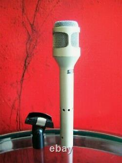 Vintage RARE 1980's Shure SM-53 cardioid dynamic microphone USA w accessories 1