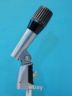 Vintage Rare 1970S Shure PE 548V Unidyne IV Dynamic Microphone And Case 548 549