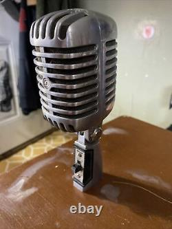 Vintage Shure 555H Series2 Unidyne Dynamic Microphone Untested As Shown