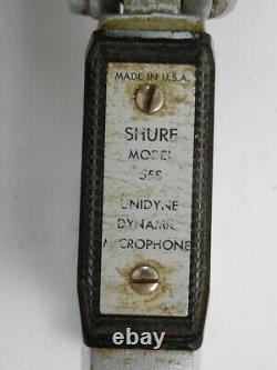 Vintage Shure Bros Model 55S Unidyne Dynamic Microphone