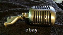 Vintage Shure Microphone Model 55S Unidyne Dynamic Untested