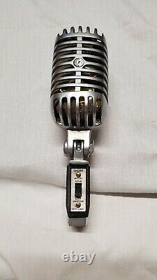 Vintage Shure Model 55SW Unidyne Dynamic Microphone