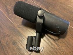 Vintage Shure SM7 Dynamic Microphone USA Made Original Studio Broadcast