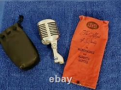 Vintage UNIDYNE Model 55S SER. 5548 SHURE BROTHERS Dynamic Microphone With Bags