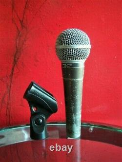 Vintage USA 1970's Shure Brothers SM58 cardioid dynamic microphone w extras # 1