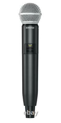 Wireless System with Cardioid Dynamic Vocal Mic GLXD24UK/SM58-Z2