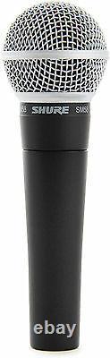 (2) Le Nouveau Concessionnaire Autorisé Shure Sm58 Vocal Mics & Cables Fait Une Offre Achetez-le Maintenant