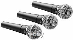3 Microphones Dynamiques/vocaux Pack Shure Sm58-lc