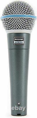 (3) Nouveau Shure Beta 58a Vocal Mics Distributeur Autorisé Faire Offre L'acheter Maintenant