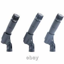 Ensemble De 3 Microphones Cardioïdes Dynamiques Sm57 De Shure Nouveau