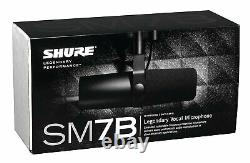 Microphone Dynamique Cardioïde Shure Sm7b