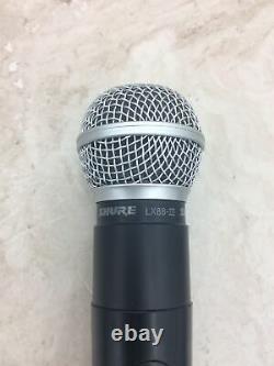 Microphone Sans Fil Shure Lx2 Avec Émetteur Portable Lx2 853,4 Mhz