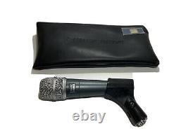 Microphone Shure Beta 57 Avec Boîtier Souple Et Clip