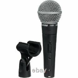 Microphone Shure Sm58s Avec Switch Vocal Dynamic Live And Recording MIC Sm58