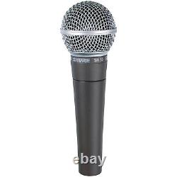 Microphone Vocal Shure Sm58-cn Avec Câble