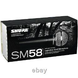 Microphone Vocal Shure Sm58s Avec Switch