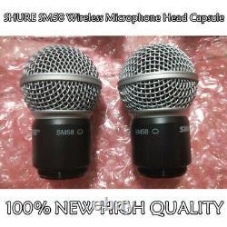 New Shure Sm58 Dynamic Wireless Microphone Head Capsule 100% Excellent État
