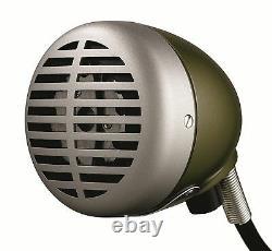 Nouveau Shure 520dx Harmonica Microphone Green Bullet Pro. Flambant Neuf Dans La Vente De Boîte