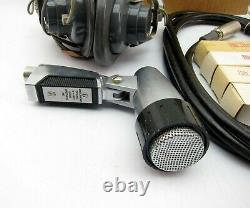 Nouveau Shure Brothers 540 S Dynamic Microphone MIC Harp Avec Câble Bq5 Kit M-44a/u