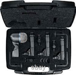 Nouveau Shure Dmk57-52 Drum MIC Kit Concessionnaire Autorisé Faire Offre De L'acheter Maintenant