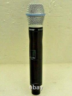 Nouveau Shure Ur2 Beta87a G1e 470 530 Mhz Uhf-r Microphone Sans Fil Portatif